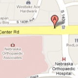 144th & Ccenter map