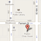 14th & Farnam map