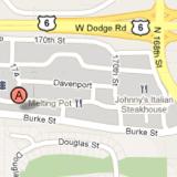 168th & Burke map